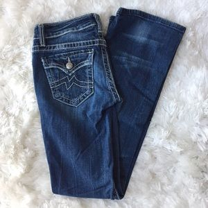 Miss Me Irene Medium Wash Boot Cut Jeans Size 26